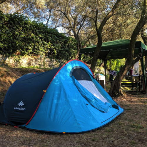 Spazio Tenda – Tent Pitch